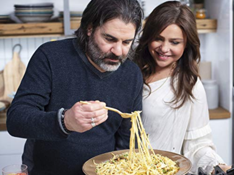 """<p>Before every magazine cover and website slapped this slogan on recipe collections, <a href=""""https://www.delish.com/restaurants/a49515/things-you-dont-know-about-rachael-ray/"""" rel=""""nofollow noopener"""" target=""""_blank"""" data-ylk=""""slk:Rachael Ray"""" class=""""link rapid-noclick-resp"""">Rachael Ray</a> made it famous. The chef did nearly everything from prep to plating in real-time, so the dishes seemed legitimately possible to make in half an hour.</p>"""