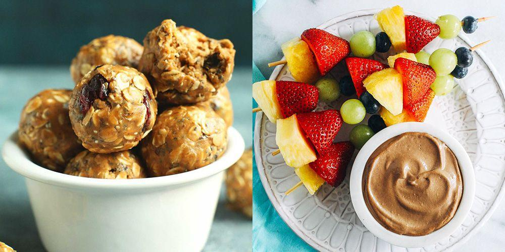 "<p>The next time your kids come home from school totally and ready to devour everything in sight, have some healthier choices on hand. These picks (from <a rel=""nofollow"" href=""https://www.redbookmag.com/food-recipes/g4112/redbook-snack-awards/"">store-bought goodies</a> to easy-to-make treats) will give you the reputation of coolest mom in the neighborhood.</p>"
