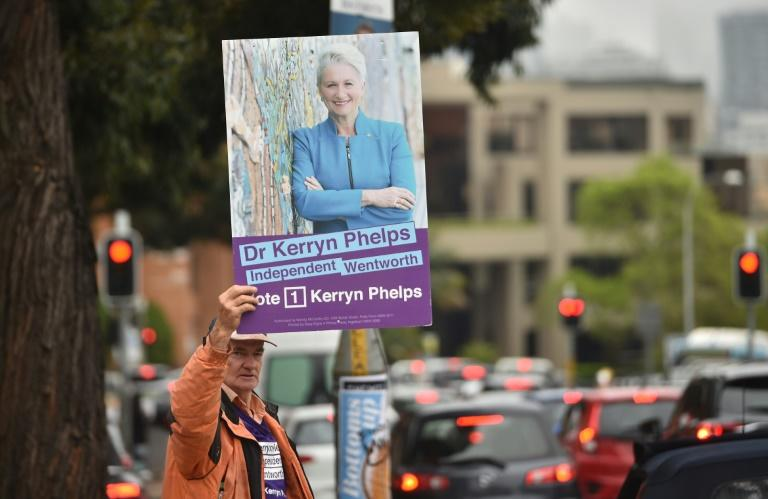 Independent candidate Kerryn Phelps won the wealthy seat of Wentworth in eastern Sydney, snuffing out the government's one-seat parliamentary majority
