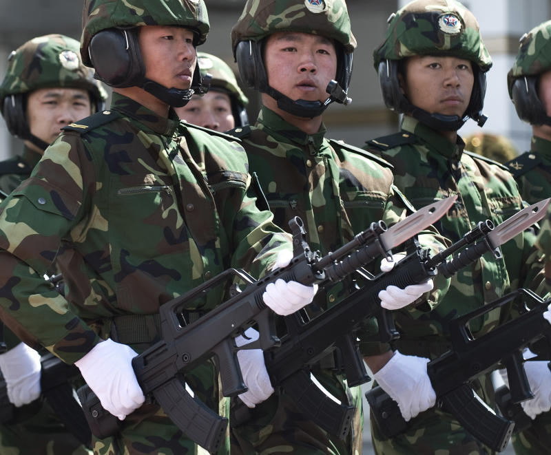 China splurging on military as US pulls back