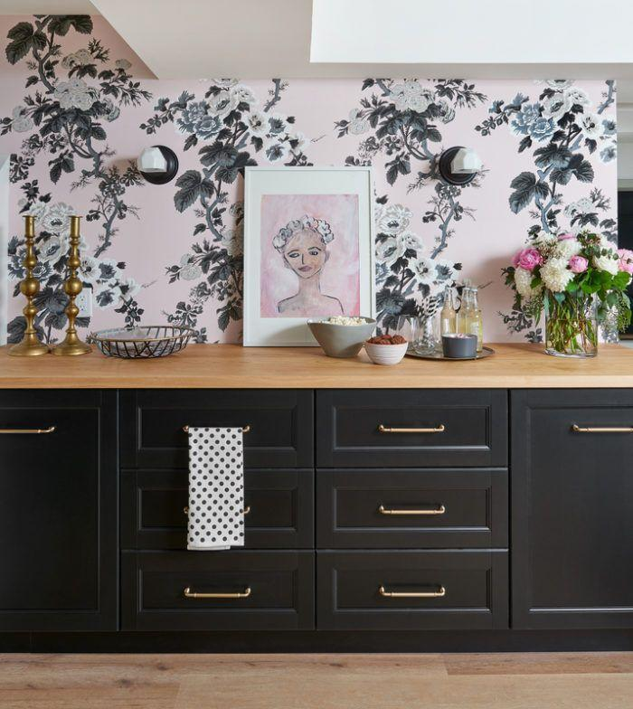 """<p>A blush and black palette add beauty to this multi-purpose basement, which was designed to be a living and wellness space for practicing dance, yoga, and more. With style like this, you'll definitely be living well!</p><p><strong>See more at <a href=""""http://www.vanessafrancis.com/one-room-challenge-reveal-fall-2017-multi-purpose-basement/"""" rel=""""nofollow noopener"""" target=""""_blank"""" data-ylk=""""slk:Vanessa Francis"""" class=""""link rapid-noclick-resp"""">Vanessa Francis</a>.</strong></p><p><a class=""""link rapid-noclick-resp"""" href=""""https://go.redirectingat.com?id=74968X1596630&url=https%3A%2F%2Fwww.walmart.com%2Fip%2FPeel-and-Stick-Removable-Wallpaper-Magnolia-Blooms-Black-Pink-Green-Modern-Home%2F801638353&sref=https%3A%2F%2Fwww.redbookmag.com%2Fhome%2Fg36061437%2Fbasement-ideas%2F"""" rel=""""nofollow noopener"""" target=""""_blank"""" data-ylk=""""slk:SHOP WALLPAPER"""">SHOP WALLPAPER</a></p>"""