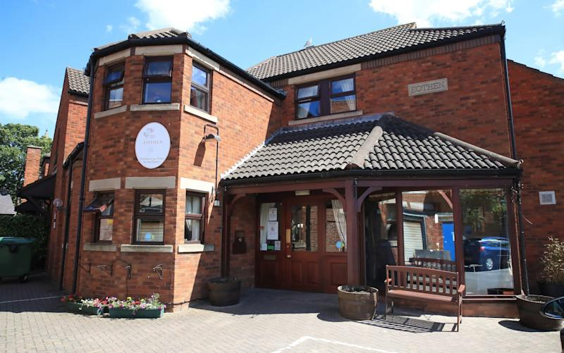 Eothen Homes care home in Whitley Bay, Tyneside, where all staff and residents are being tested for coronavirus -PHE warned in February against discharges into care homes where there was risk of coronavirus transmission - PA