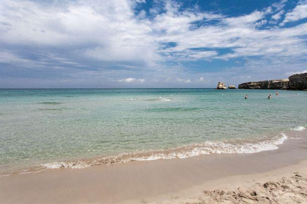 PHOTO: Beach at Araba Fenice Village, Torre Dell'Orso.  (Oyster.com)