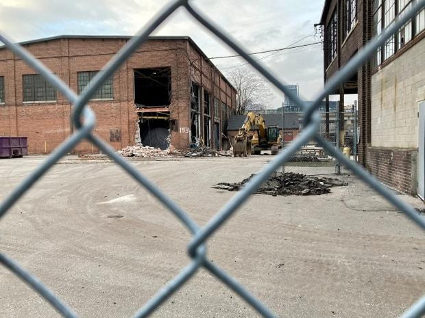 A temporary injunction has halted demolition at the heritage-listed property, pending a hearing scheduled for Friday in Ontario Divisional Court.