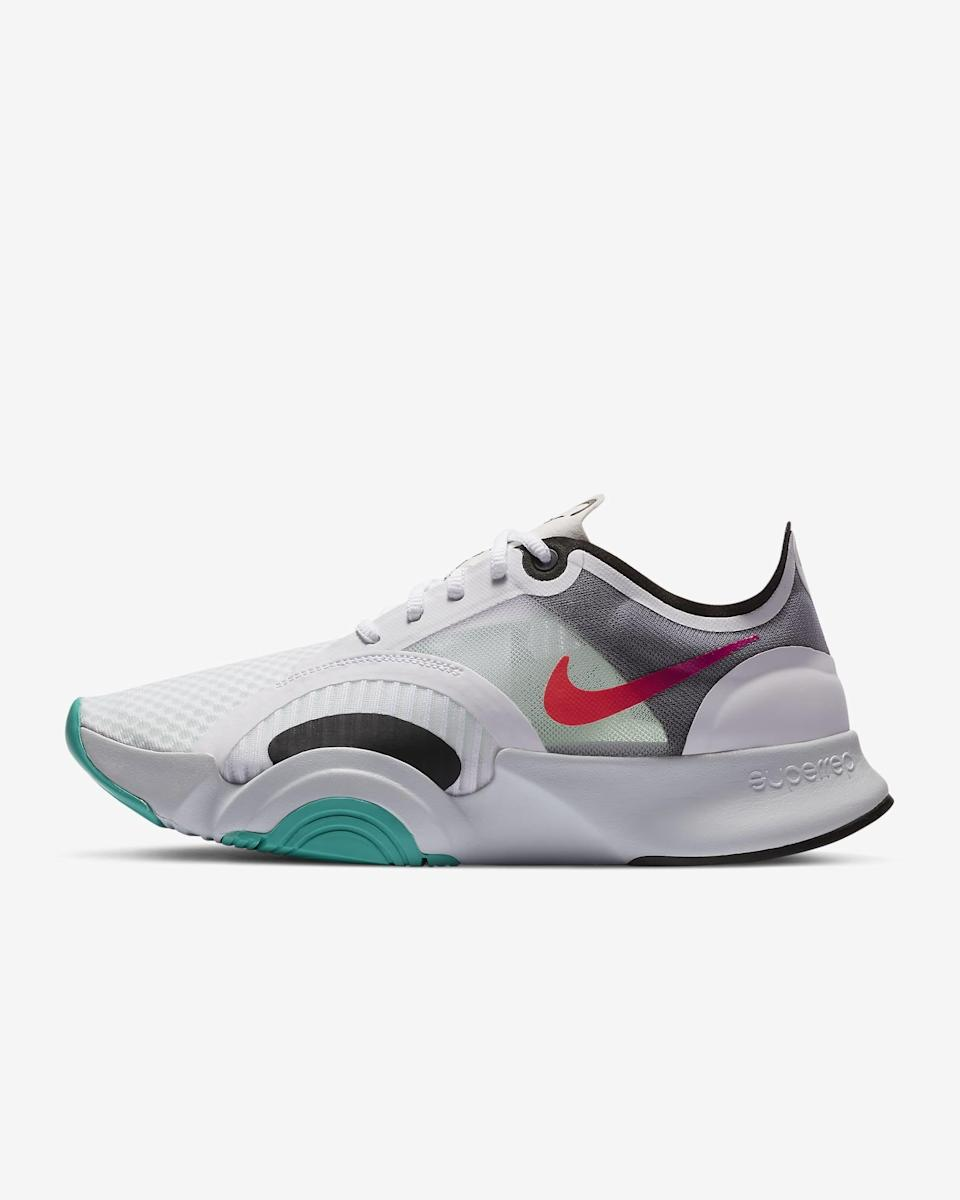 <p>If you're doing high intensity training, these <span>Nike SuperRep Go Training Shoes</span> ($69, originally $100) were made for you.</p>