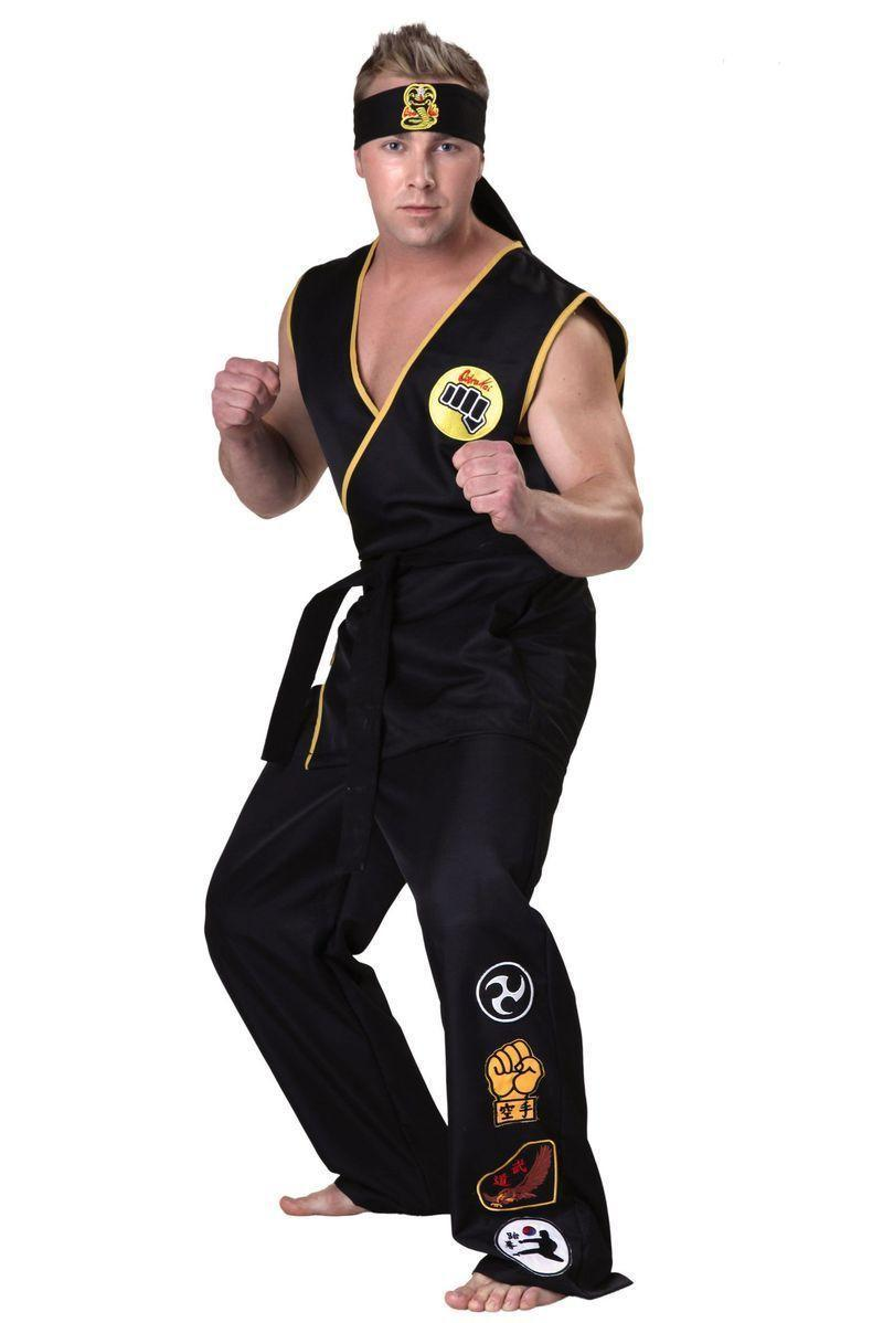 """<p><strong>Fun Costumes</strong></p><p>amazon.com</p><p><a href=""""http://www.amazon.com/dp/B00LENNTO6/?tag=syn-yahoo-20&ascsubtag=%5Bartid%7C10055.g.4544%5Bsrc%7Cyahoo-us"""" rel=""""nofollow noopener"""" target=""""_blank"""" data-ylk=""""slk:Shop Now"""" class=""""link rapid-noclick-resp"""">Shop Now</a></p><p>Wax on, wax off your way into the night with this kick-butt costume — then watch out for those crane kicks.</p>"""