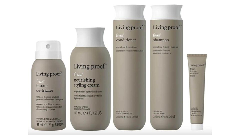 Keep your hair frizz-free with this Living Proof kit.