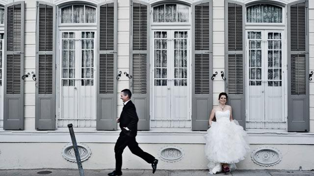 New Wedding Photos for New Orleans Couples Who Lost Albums in Katrina