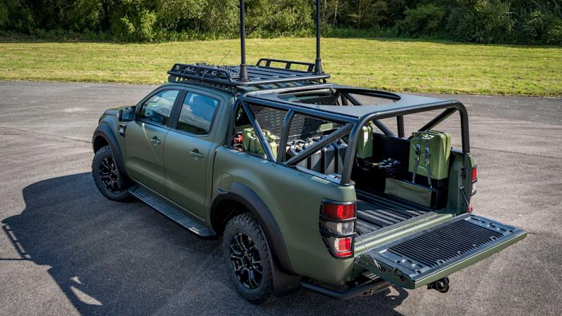 Ford Ranger Military Demonstrator - Ricardo