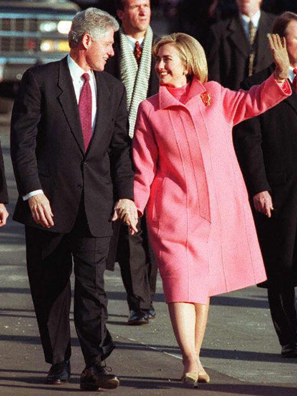 "<div class=""caption-credit""> Photo by: AFP/Getty Images</div><div class=""caption-title"">Hillary Clinton</div>Style Notes: A bold, color saturated coat makes the right political statement. <br> <br> <b>Read More: <a href=""http://www.harpersbazaar.com/fashion/fashion-articles/mini-skirt-fashion?link=emb&dom=yah_life&src=syn&con=blog_blog_hbz&mag=har"" rel=""nofollow noopener"" target=""_blank"" data-ylk=""slk:The Most Iconic Mini Skirts of ALL TIME"" class=""link rapid-noclick-resp"">The Most Iconic Mini Skirts of ALL TIME</a></b>"
