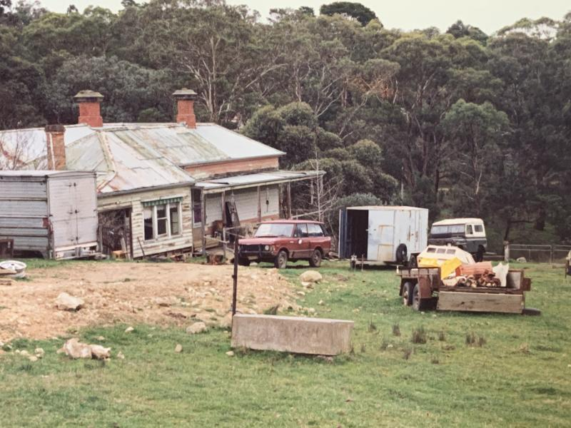 Emma's house when she lived in it as a child in the 1980s. Photo: Supplied