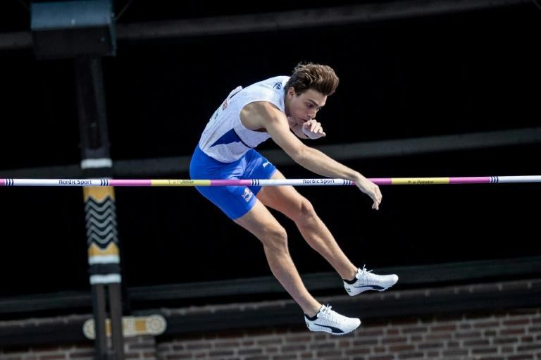 Pole vault world record holder Armand Duplantis of Sweden is making his Olympic debut