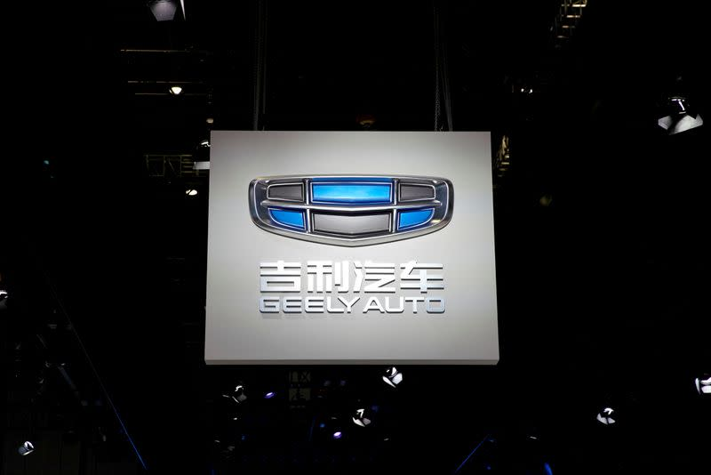China's Geely reports 2% rise in April sales as market rebounds