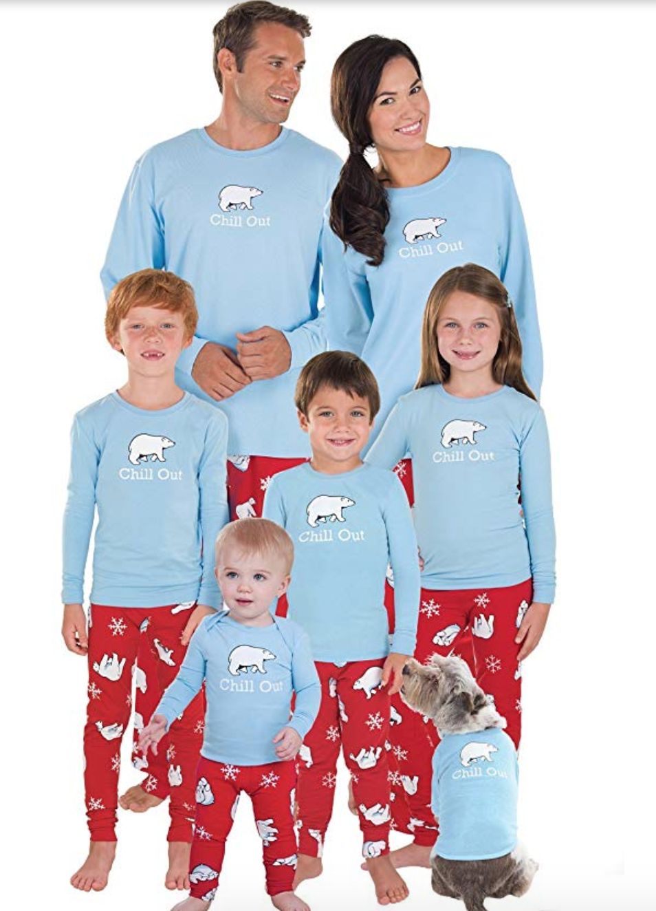 """<p><strong>PajamaGram</strong></p><p>Starting from $15</p><p><a href=""""https://www.amazon.com/dp/B004DB8CZC?tag=syn-yahoo-20&ascsubtag=%5Bartid%7C10055.g.4946%5Bsrc%7Cyahoo-us"""" rel=""""nofollow noopener"""" target=""""_blank"""" data-ylk=""""slk:Shop Now"""" class=""""link rapid-noclick-resp"""">Shop Now</a></p><p>One of them family members acting out? Let them know to chill out because it's the holidays! </p>"""