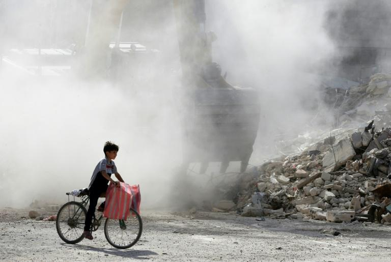 Syria's war has killed more than 350,000 people and displaced millions since 2011