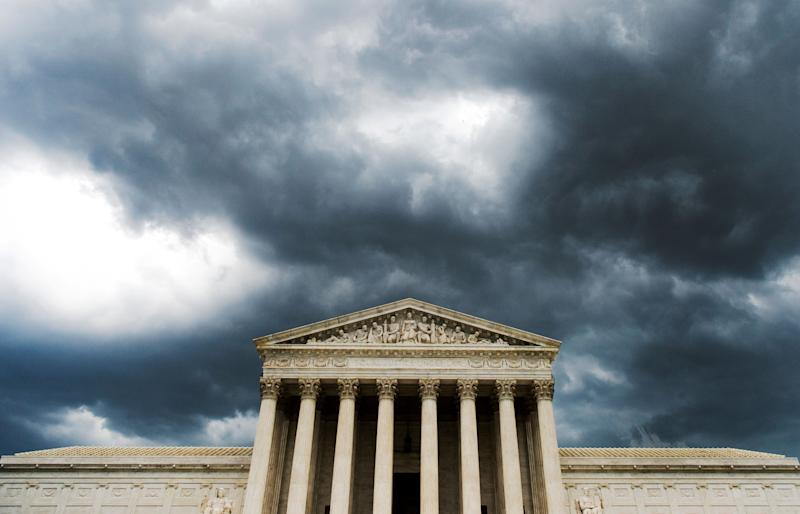 The Supreme Court may well hear a postelection challenge that could decide the presidency. (Photo: Bill Clark/CQ Roll Call via Getty Images)