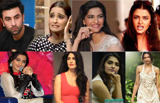 Sonam Kapoor, the daughter of famous Bollywood actor Anil Kapoor, has made quite a journey from the overweight star kid to the fashionista and style icon she is seen as. The Neerja actress is also known for her bold statements and not mincing any words to sound sweet or be diplomatic. Many a times, it is this habit of hers that has landed her in multiple controversies. Be it in a press conference, talking about a co-star or even her infamous rant against Ranbir Kapoor on Koffee with Karan.  She, like any other human being, has made several mistakes in her career, be it choice of films or her media bytes. We have listed for you the top 6 mistakes of Sonam's in her Bollywood career.