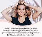 """<p>Exercise is about pushing yourself physically, yes. But it's also about appreciating how much more joy and mental wellness it can bring to your life, as well. Gemma's MO is about using movement to help her move through her life better, as well. As she says, 'one more rep, 10 more seconds – you <strong>can </strong>do it!'</p><p><a href=""""https://www.instagram.com/p/CM5D9-oHytL/"""" rel=""""nofollow noopener"""" target=""""_blank"""" data-ylk=""""slk:See the original post on Instagram"""" class=""""link rapid-noclick-resp"""">See the original post on Instagram</a></p>"""