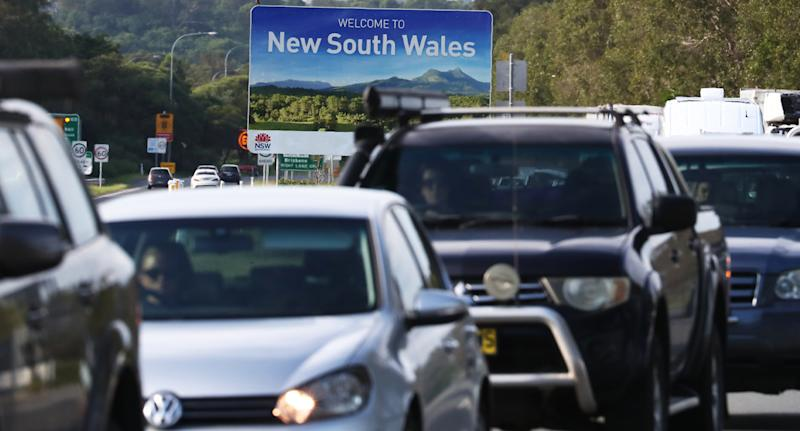 The premier is urging people not to travel during the Easter break. Source: AAP