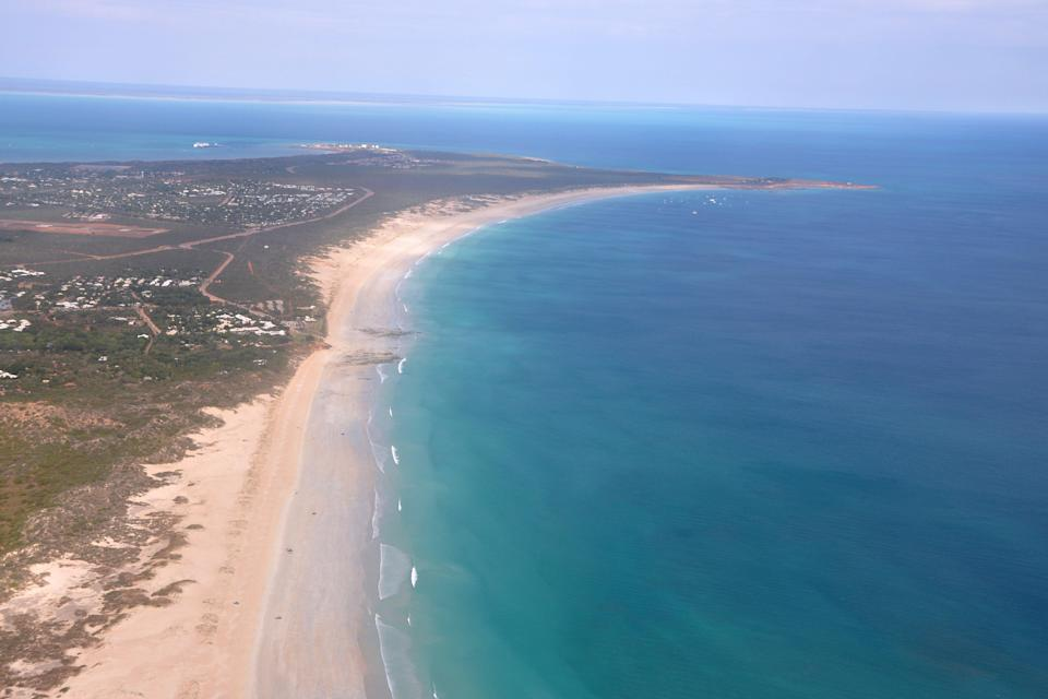 <p>Cable Beach is a popular spot for tourists</p> (AP)