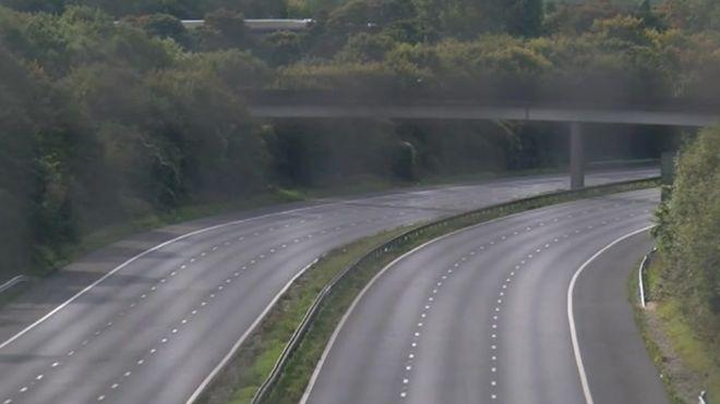M3 closure: boy, 17, is charged over 'potentially hazardous' material