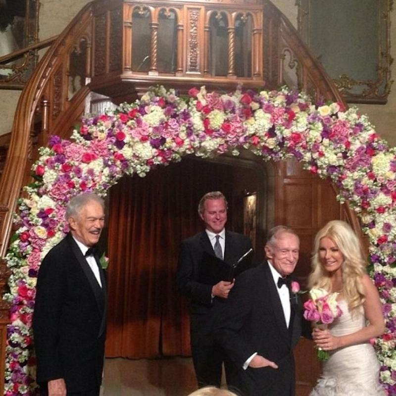 'I was a guest at the New Year's Eve wedding of Hef and Crystal; the love between them was to be admired.' Source: Supplied