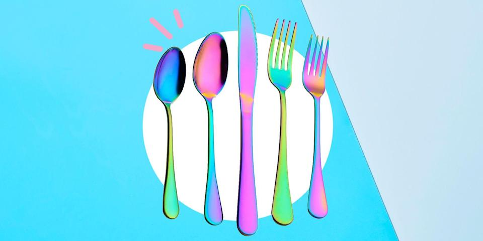 <p>A good flatware set is essential (unless you're more into eating with your hands...). Let's face it: It can be super frustrating when your fork or spoon is too big or too small, too heavy or too light, or hey, if you just find your silverware plain old ugly. We all have preferences, even when it comes to eating utensils. </p><p>Buying new cutlery may not be high up there on your list of things to do, but you should probably reconsider if you want to make your nightly dinners feel more like five-star dining than a run to the fast food joint. A good flatware set will last for years, so consider it more of an investment. </p><p>Here's a list of the best flatware sets you can buy to totally upgrade your eating experience. </p>