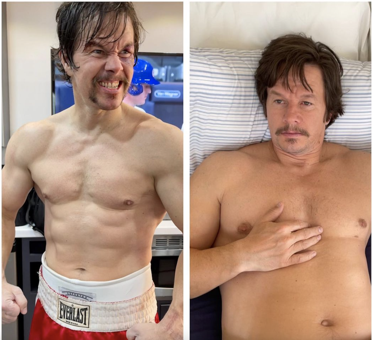 Mark Wahlberg shared that he needed to gain 50 pounds for his role in the upcoming movie