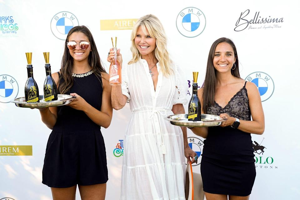 <p>Christie Brinkley attends Kenneth, Maria and Bradley Fishel Celebrate POLO Hamptons with Christie Brinkley at a private residence on July 24 in Bridgehampton, New York. </p>