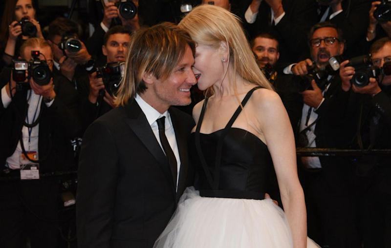They also put on an amorous display at the Cannes Film Festival back in May. Source: Getty