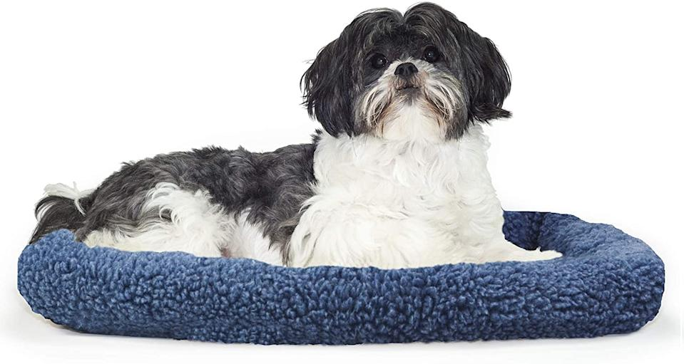 Furhaven Dog Bed. Image via Amazon.