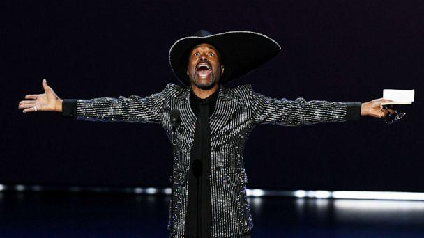 PHOTO: Billy Porter accepts the Outstanding Lead Actor in a Drama Series award for 'Pose' onstage during the 71st Emmy Awards at Microsoft Theater on September 22, 2019 in Los Angeles, California. (Kevin Winter/Getty Images)