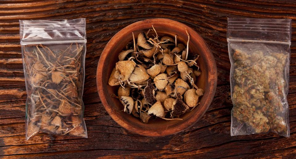 """Psilocybin, an ingredient in """"magic mushrooms,"""" is a promising treatment for depression. Researchers have now found a more affordable, faster way to produce it. (Photo: Getty Images)"""