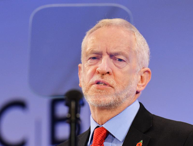<strong>Support for Jeremy Corbyn is falling, according to the poll </strong> (PA Wire/PA Images)