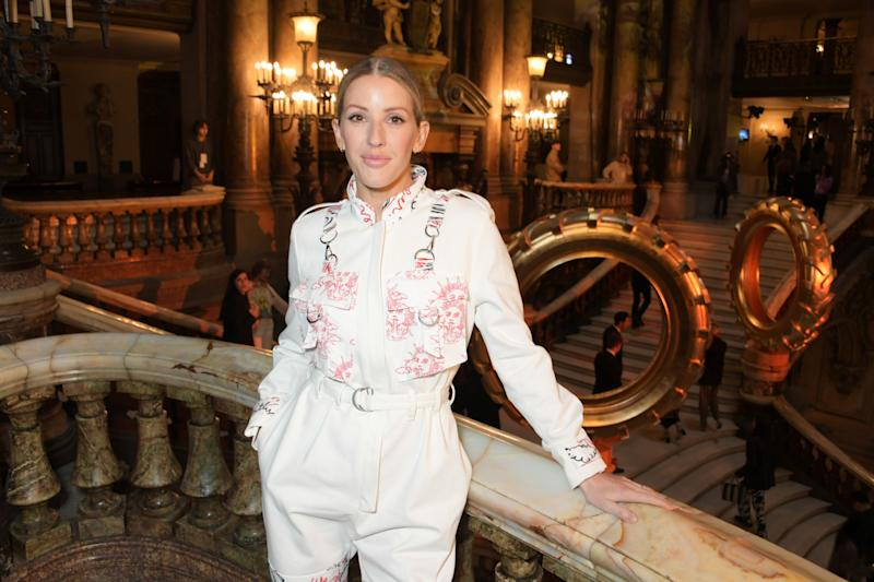 PARIS, FRANCE - SEPTEMBER 30: Ellie Goulding attends the Stella McCartney Womenswear Spring/Summer 2020 show as part of Paris Fashion Week on September 30, 2019 in Paris, France. (Photo by David M. Benett/Dave Benett/Getty Images)