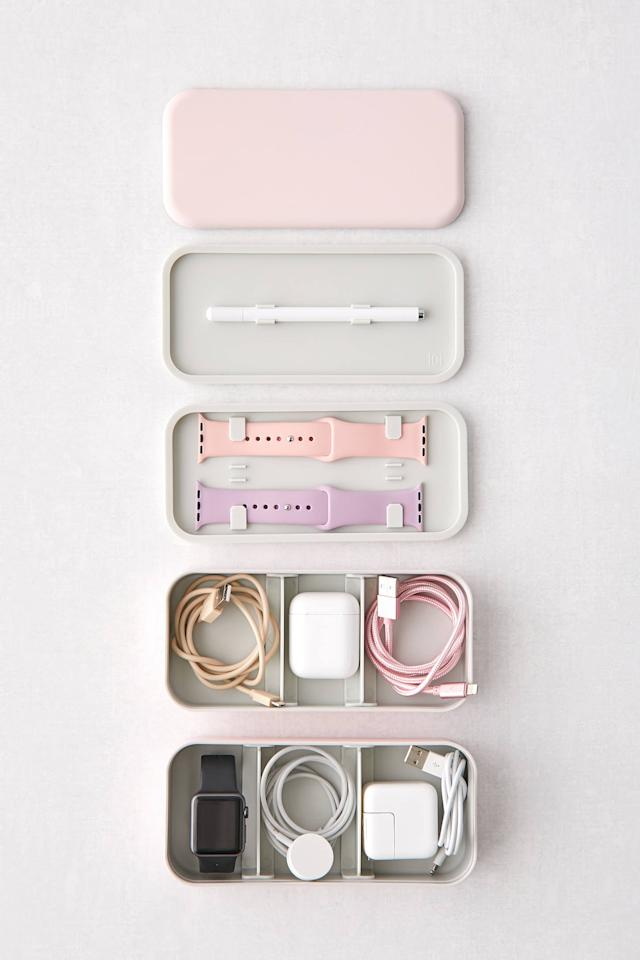 "<p>Get this <a href=""https://www.popsugar.com/buy/BentoStack-Tech-Organizer-500010?p_name=BentoStack%20Tech%20Organizer&retailer=urbanoutfitters.com&pid=500010&price=40&evar1=geek%3Auk&evar9=44622392&evar98=https%3A%2F%2Fwww.popsugartech.com%2Fphoto-gallery%2F44622392%2Fimage%2F46745991%2FBentoStack-Tech-Organizer&list1=shopping%2Curban%20outfitters%2Cgadgets%2Cgift%20guide%2Ctech%20shopping&prop13=api&pdata=1"" rel=""nofollow"" data-shoppable-link=""1"" target=""_blank"" class=""ga-track"" data-ga-category=""Related"" data-ga-label=""https://www.urbanoutfitters.com/shop/bentostack-tech-organizer?category=cell-phone-accessories&amp;color=066&amp;quantity=1&amp;size=ONE%20SIZE&amp;type=REGULAR"" data-ga-action=""In-Line Links"">BentoStack Tech Organizer</a> ($40) for the person who has everything.</p>"