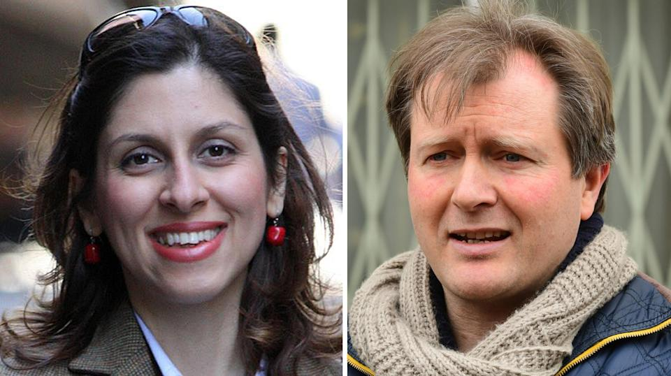 Richard Ratcliffe, husband of Nazanin, was critical of the UK Government's handling of his wife's situation in Iran (PA Media)