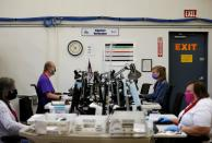 Operations at the Thurston County Ballot Processing Center in Tumwater