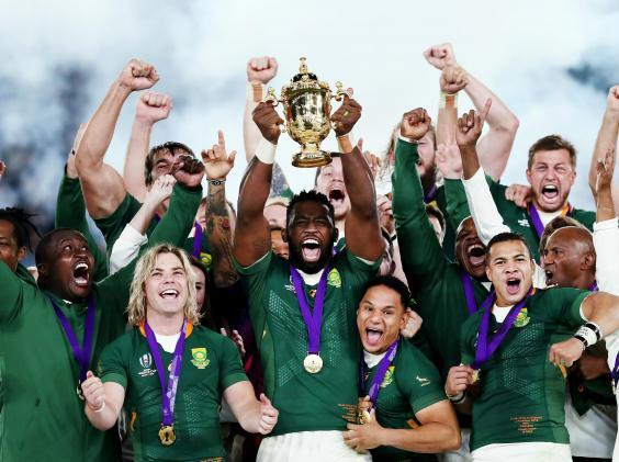 Siya Kolisi steered South Africa to Rugby World Cup success (Getty)