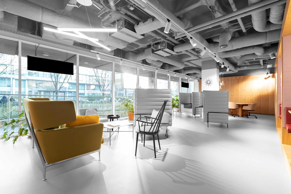 <p>Serviced offices giant IWG saw demand hit by the pandemic in 2020</p> (IWG)