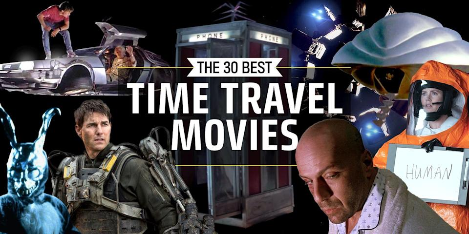 <p>Time travel movies often make for the most mind-numbing sci-fi films with paradoxes aplenty. But it's those confusing temporal gymnastics that make them so fun. We've rounded up our favorites, from classic films like <em>Back to the Future</em> and <em>Bill and Ted's Excellent Adventure</em> to more recent flicks like <em>Arrival </em>and <em>Interstellar,</em> which left our minds tangled in knots. </p><p>These are the best sci-fi films that explore the fluidity of time. </p>