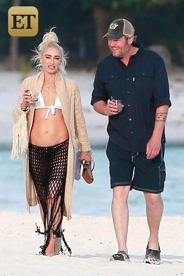 Blake Shelton and Gwen Stefani Mexico