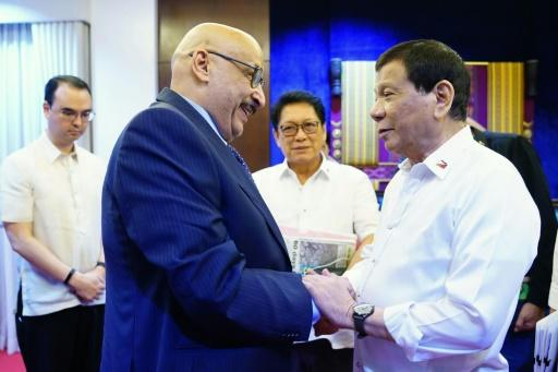 President Rodrigo Duterte met Kuwaiti Ambassador to the Philippines Musaed Saleh Ahmad Althwaikh th this week, but the row between the two countries has escalated