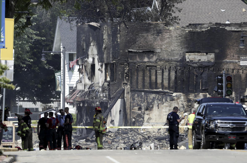 Subcontractor 'on site' ahead of fatal Wisconsin blast