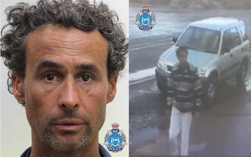 Jason Gale was last seen buying petrol in Pingelly. He is driving a silver Honda CR-V. Source: WA Police