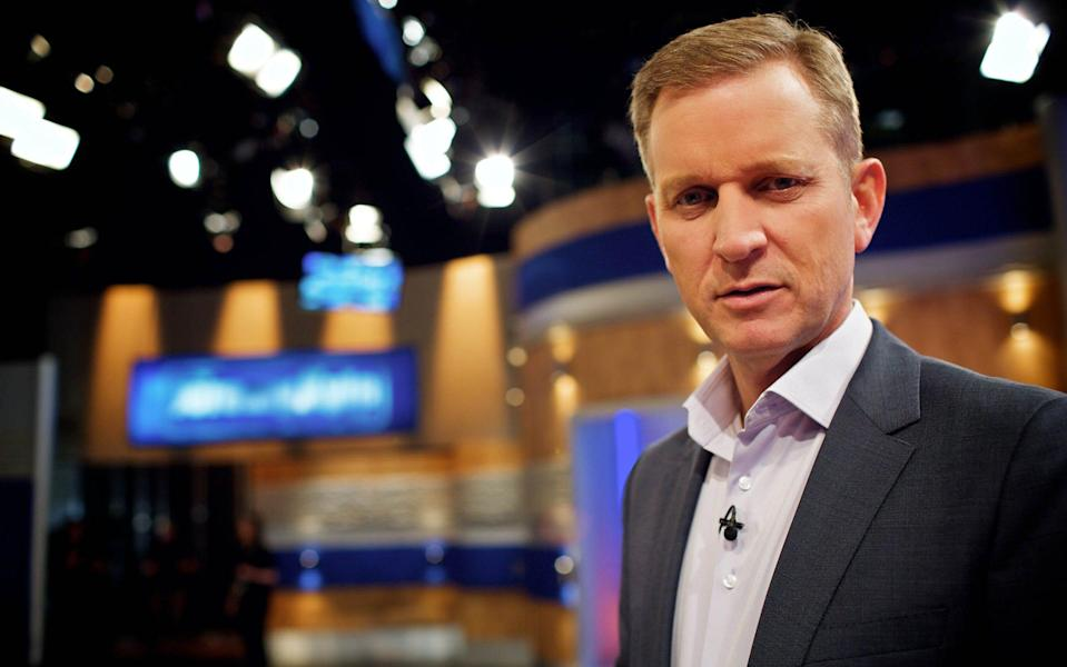 """TV presenter Jeremy Kyle called tragic guest Steve Dymond a """"serial liar"""" and said he """"would not trust him with a chocolate button"""", a coroner has revealed. - ITV/REX/Shutterstock"""