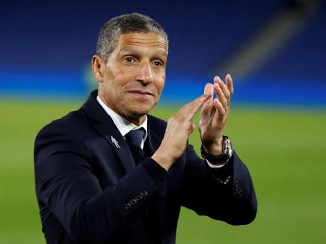 Chris Hughton tells Brighton to keep their foot on the throttle despite securing Premier League safety