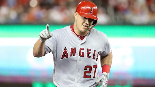A metric suggests that Angels outfielder Mike Trout is as recognizable to Americans as reserve forward Kenneth Faried of the Brooklyn Nets.