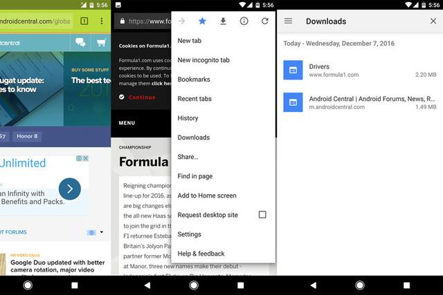 How to manage downloads in chrome for android | comtek computer.