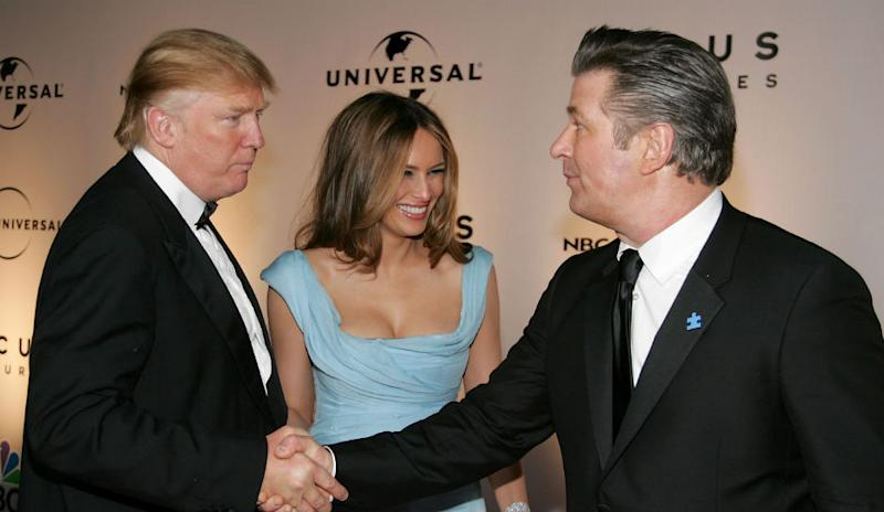 Alec Baldwin may play Trump at Correspondent's Dinner.